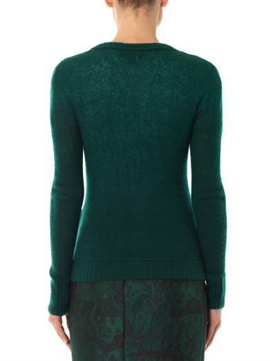 Burberry Prorsum Cashmere and silk-blend cardigan