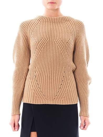 Burberry Prorsum Sculptural cashmere sweater