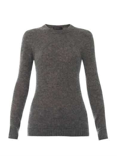 Burberry Prorsum Cashmere and silk-blend sweater