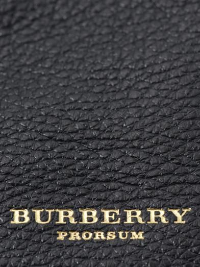 Burberry Prorsum Studley leather tote