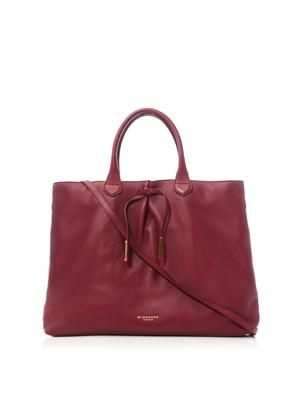 Studley leather tote
