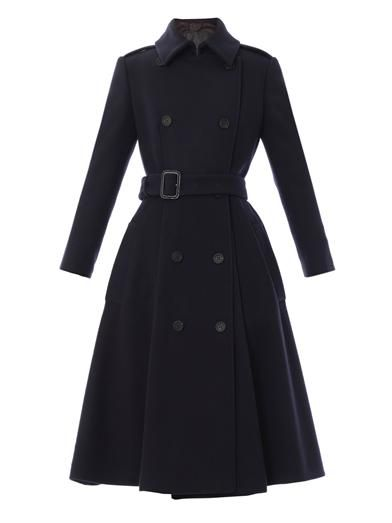 Burberry Prorsum Wool trench coat