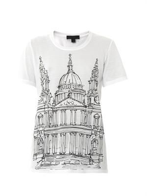 St Paul's Cathedral-print T-shirt