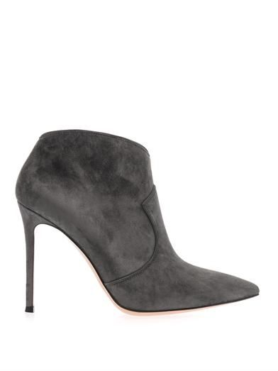 Gianvito Rossi Mable suede ankle boots