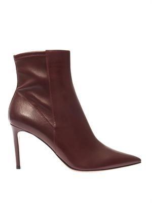 Osaka leather boots