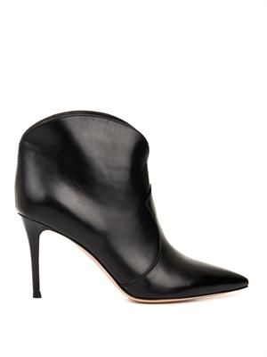 Mable leather ankle boots