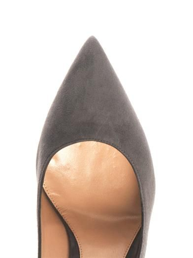 Gianvito Rossi Business point-toe suede pumps