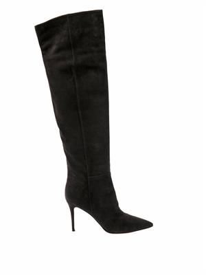 Stilo suede over-the-knee boots