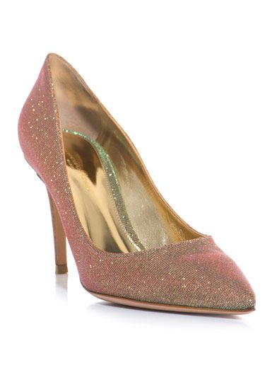 a687aaf05d3 Flash glitter point-toe pumps - Gianvito Rossi - Telegraph