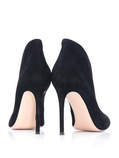 Gianvito Rossi Vamp open-toe suede ankle boots