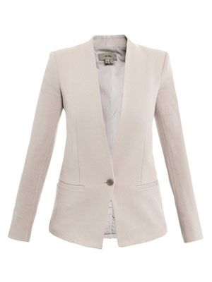 Gala single-breasted jacket