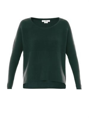 Wool-angora sweater