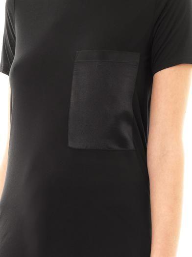 Helmut Lang Silk pocket T-shirt