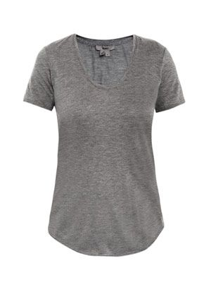 Kinetic scoop-neck T-shirt