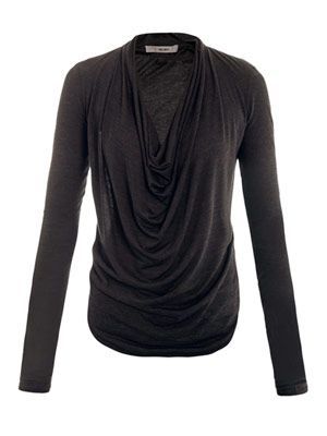 Kinetic cowl-neck top