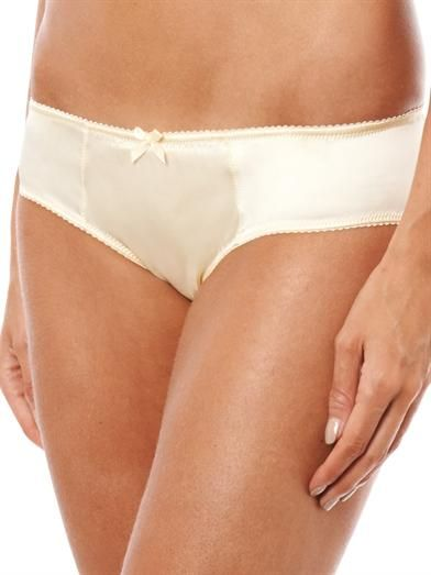 Dolce & Gabbana Silk-satin briefs