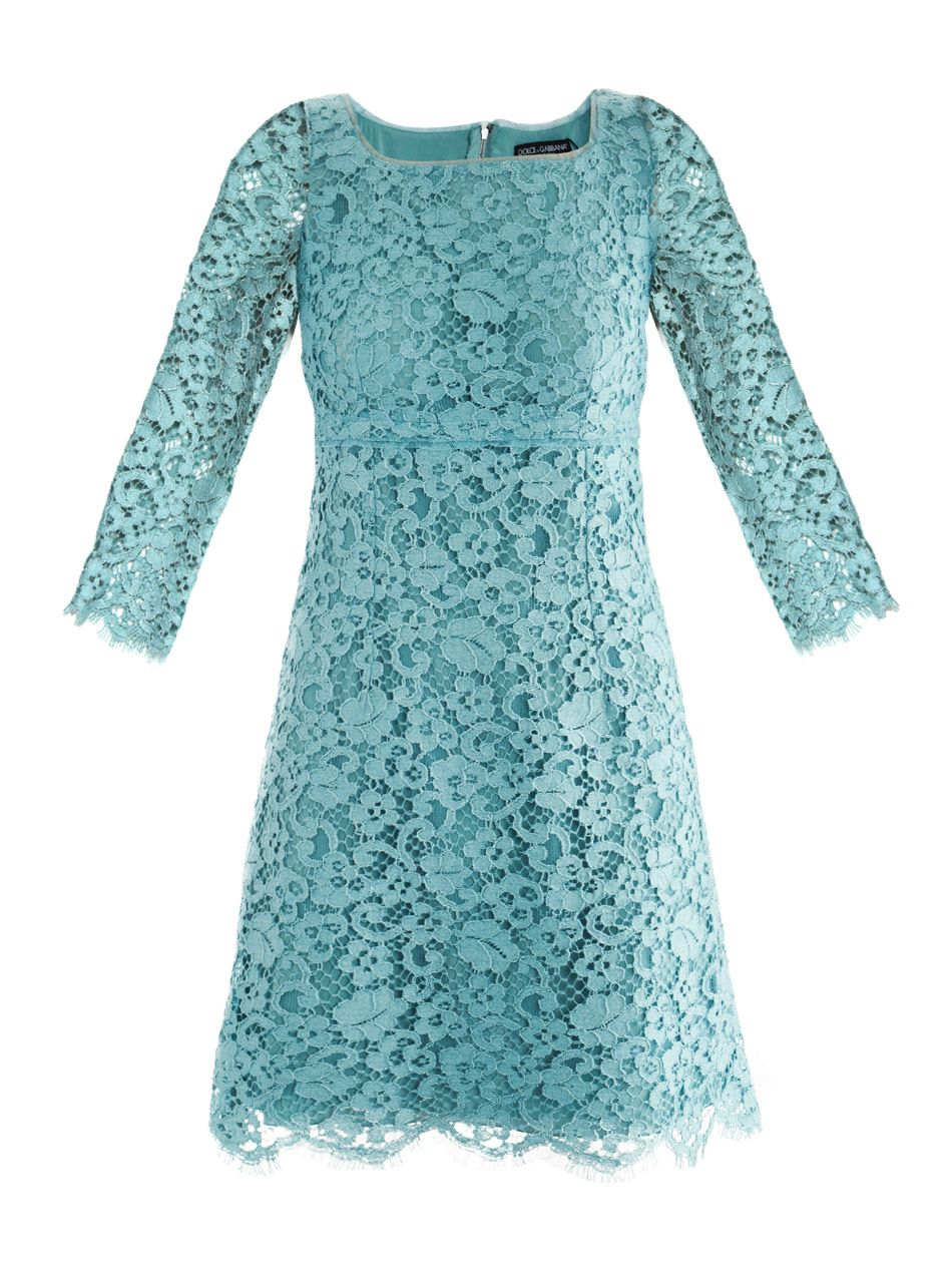 dolce & gabbana DG-E-F6EP4T-FLMUT dresses LIGHT BLUE