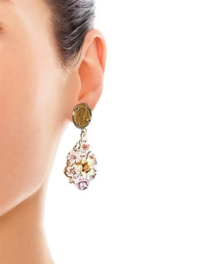 Dolce & Gabbana Almond flower earrings