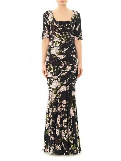 Dolce & Gabbana Almond blossom gown