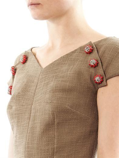 Dolce & Gabbana Woven tweed dress