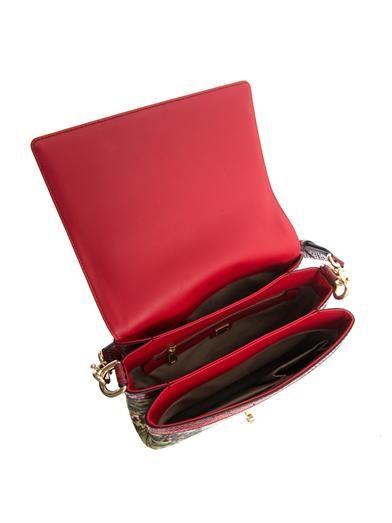 Dolce & Gabbana Temple brocade shoulder bag