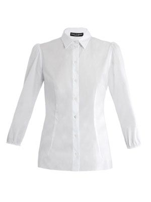 Elasticated cuff shirt