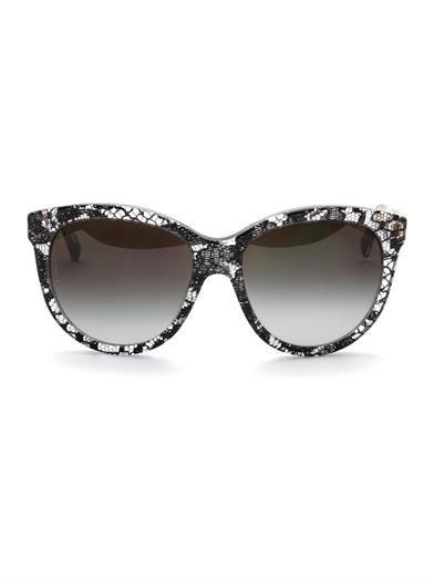 Dolce & Gabbana Lace acetate sunglasses
