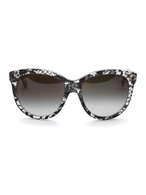 Lace acetate sunglasses