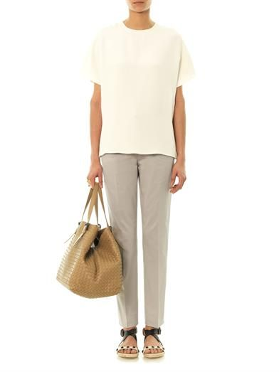 Dolce & Gabbana Tailored cotton trousers