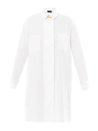 Sophie Hulme Chain-link detail shirt dress