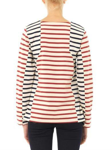 Sophie Hulme Panelled Breton top