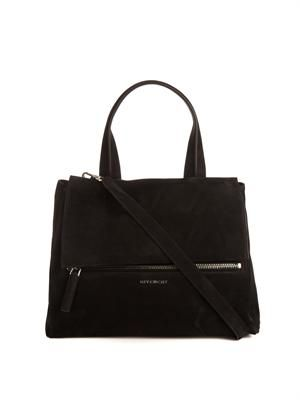 Pandora Pure Flap medium suede bag