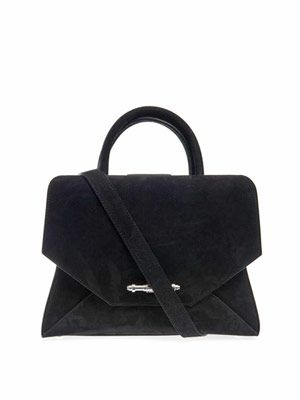 Obsedia small suede tote