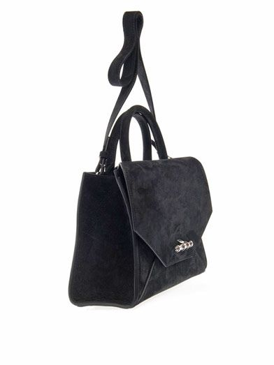 Givenchy Obsedia small suede tote
