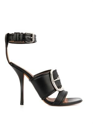 Odia leather sandals