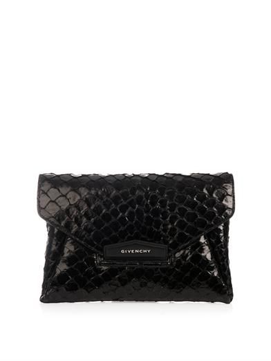 Givenchy Antigona pirarucu envelope clutch