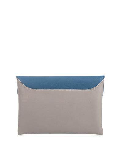 Givenchy Antigona leather envelope clutch