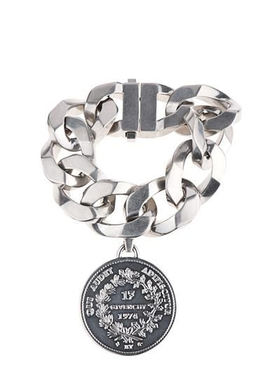 Givenchy Oversized chain and medallion bracelet