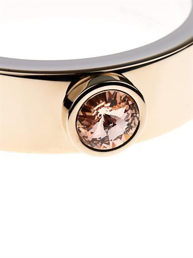 Givenchy Crystal stud cuff