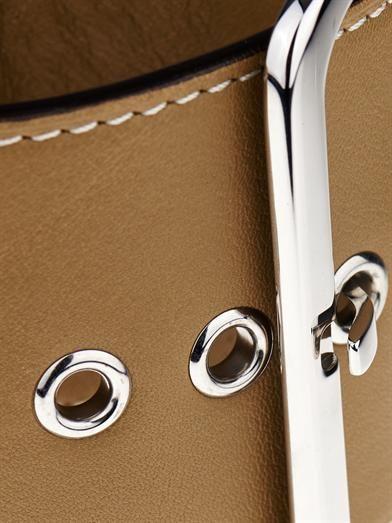Givenchy Buckle leather bracelet