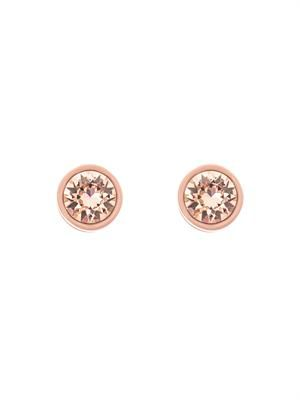 Small strass magnetic earrings
