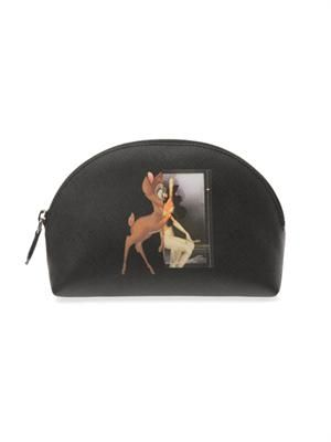 Bambi-print make-up bag
