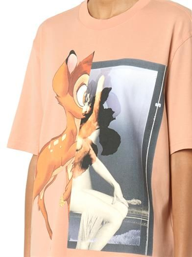 Givenchy Bambi-print cotton T-shirt