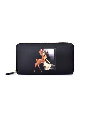 Bambi-print wallet
