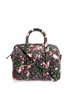 Mini lucrezia printed bowling bag