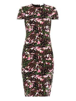 Baby Flower-print T-shirt dress