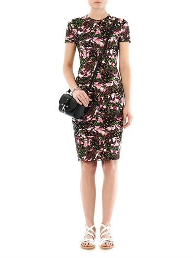 Givenchy Baby Flower-print T-shirt dress
