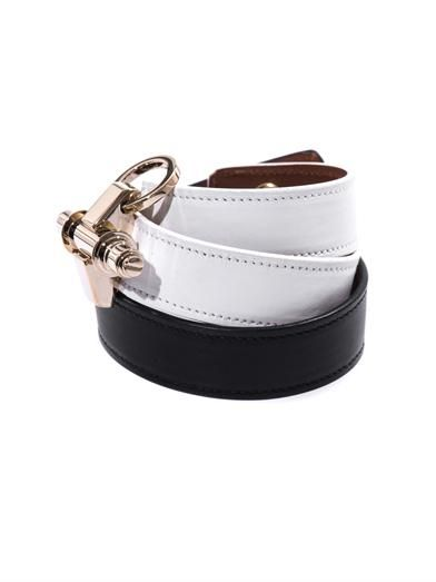 Givenchy Bi-colour leather Obsedia cuff