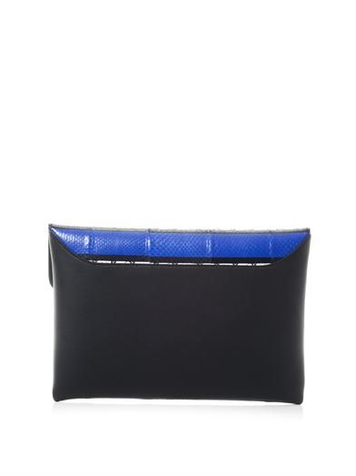 Givenchy Antigona striped ayers clutch