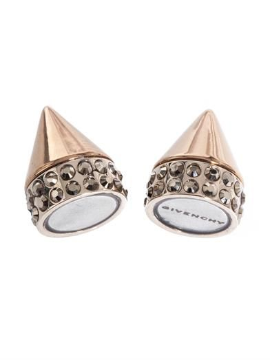 Givenchy Double-cone magnetic single earring